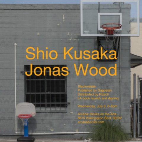 Shio Kusaka + Jonas Wood Book Signing