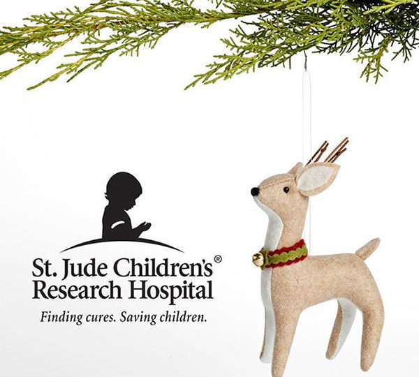 Gift of Thanks Ornament at Rejuvenation Benefits St. Jude Hospital
