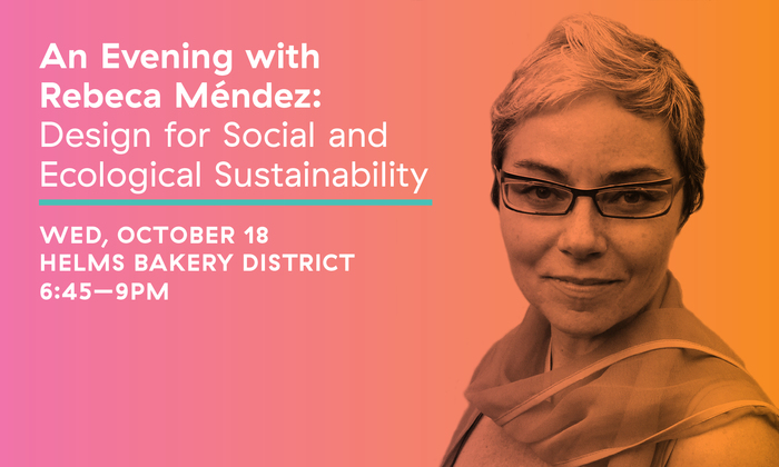 An Evening With Aiga And Artist Amp Designer Rebeca M 233 Ndez