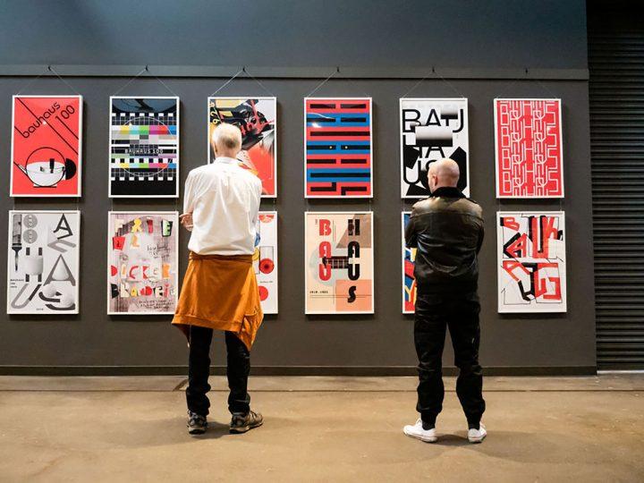 Bauhaus 100 Poster Exhibition