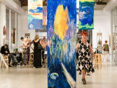 Renée Amitai's Art Exhibition Celebrates Her 90th Birthday